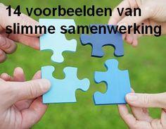 Samenwerken werkt! Andere ondernemers beschikken vaak over kennis en kunde die bij jou zelf ontbreekt. Bekijk hier 14 voorbeelden van slimme samenwerking aan innovatie: www.syntens.nl/samenwerken