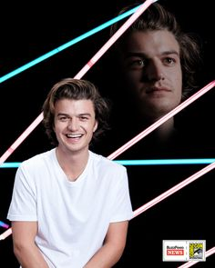 <i>Stranger Things</i> star Joe Keery Stranger Things Quote, Stranger Things Steve, Stranger Things Aesthetic, Joe Kerry, Netflix, Bad Picture, Steve Harrington, My Guy, Awkward