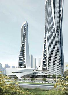 Raffles City Hangzhou, China : Architecture Information  Development by UNStudio / Ben van Berkel in China, Asia