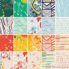 Bijou Lovely. Meadow by Leah Duncan. Art Gallery Fabrics