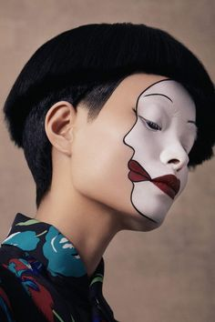 "midnight-charm: "" Ling Liu photographed by Christine Hahn for New York Magazine Hair: Helen Reavey Makeup: Chiao Li Hsu """
