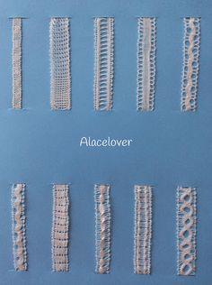 A Bobbin Lace Lover: Encaje de Bolillos.Encaje de Hinojosa