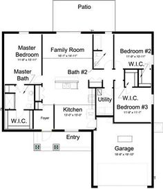 1000 Square Foot House Plans Small But Nice Floor Plan