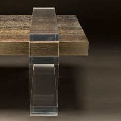 Allan KnightAcrylic | Cocktail Tables | Concord Cocktail Table