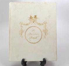 ANTIQUE BOOKS - $399.99 - The Bride's Book Wedding Souvenir Book 1900 w/ Maud Humphrey Chromolithographs #antiques