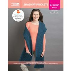 Shadow Pockets Pocket Shawl ePattern
