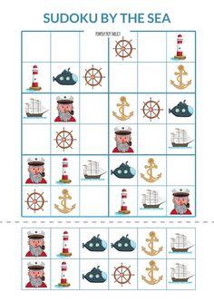 Wakacje już za rogiem, więc najwyższa pora na drugą część serii By the sea. Tym razem podzielę się z Wami znaną i lubianą grą Dobble oraz sudoku obrazkowym. Zapraszam :)