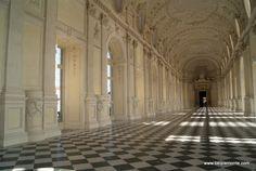 The Reggia of Venaria Reale in Turin, Piedmont, Italy