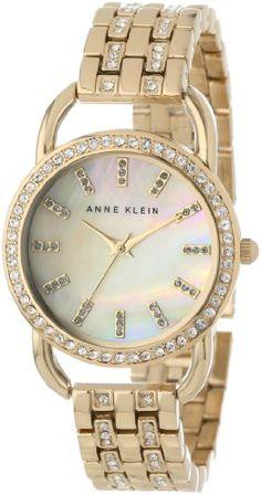 Anne Klein Women's AK/1262CMGB Swarovski Crystal Accented Gold-Tone Dress Watch Anne Klein http://www.amazon.com/dp/B00D6HS4VQ/ref=cm_sw_r_pi_dp_YWlLtb0ERTP4DD6R