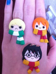 Harry, the ginger and that one pissy guy. by CCKJewellery on deviantART