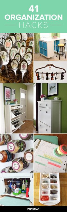 These super simple hacks make organization so much simpler.