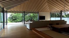 kengo kuma: water cherry house #architettura #villa #giappone