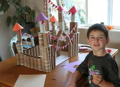 Lilliedale  Toilet paper and paper towel rolls castle
