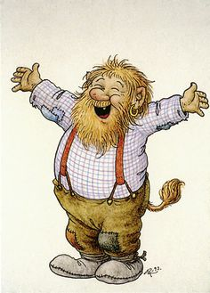 Rolf Jonas Lidberg (May 26, 1930 in Järkvissle, Sweden – 15 February 2005) was a Swedish artist and botanist,[1] best known for his watercolor paintings and books with paintings of trolls depicting their life near Sweden's Indal river.[2] In his illustrations, his trolls were very human, and usually occupied with something in nature, such as berry or mushroom picking, fishing, or gazing up in the sky.