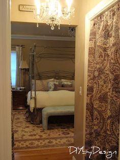 Closet curtains