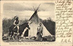 Real American Neighbors Fort Pierre South Dakota Native Americana