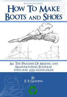 This How To MAKE BOOTS and SHOES 300 Pages illustrated Book Shoe is just one of the custom, handmade pieces you'll find in our patterns & how to shops. Muscle Names, How To Make Boots, How To Make Moccasins, Leg Bones, Rare Words, Modelista, Shoe Pattern, Ipad Tablet, Leather Working