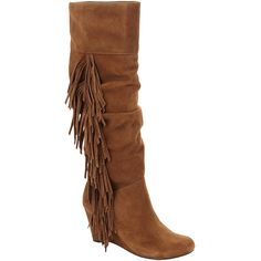 Gianni Bini Rey Wedge Boots | Dillards.com ($110) via Polyvore