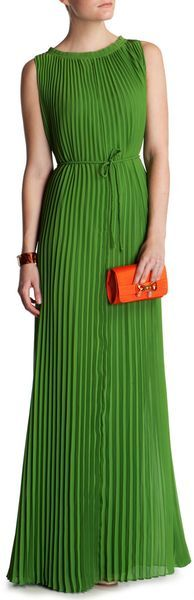 Ted Baker Hayleen Pleated Maxi Dress