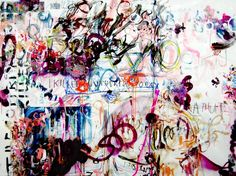 "Saatchi Art Artist Marc Jung; Painting, ""NOCH NIE IN EINER ECHTEN SCHLÄGEREI, 2010, mixed media on canvas,…"