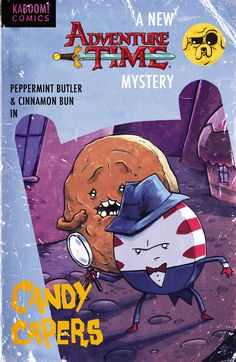 Candy Capers // With Finn and Jake missing, Peppermint Butler and Cinnamon Bun are tasked with protecting Candy Kingdom.