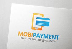Mobile Payment Logo by Slim Studio on Creative Market