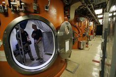 Submarine interior   ... the Ohio-class guided-missile submarine USS Florida (SSGN 728).jpg