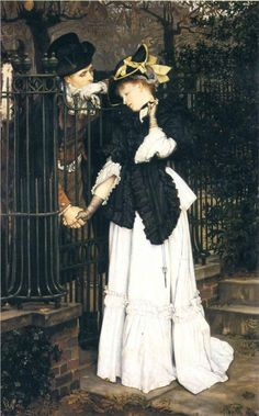 The Farewell, 1871 by James Tissot