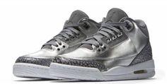 Pre Order New Nike Air Jordan 3 Prm GS Chrome AA1243-020   Kixify Marketplace