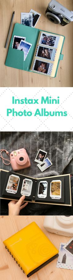 Instax Mini Photo Albums - Keep Your Instant Memories Safe! Photo Albums for Polaroid Pictures. #Polaroid #Instax #InstaxMini8 #InstaxMini #InstaxMini9 #PhotoAlbum #Memories #Tumblr