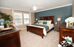 Awesome master bedroom in Mill Creek at Kendall Town #Lennar #DreamHome #DecoratingIdeas