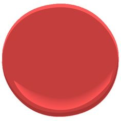 There is this color -- strawberry red which would match my bench and a pot on the front/side of the house.