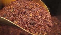 """Red tea"" – a tea made from the rooibos bush in South Africa – is different from any tea you've ever tasted. The term ""rooibos"" (pronounced ""ro… Stevia, Red Rooibos Tea, The Rouge, Types Of Tea, Recipe For 4, Sweet Tea, Detox Tea, Meals For The Week, How To Dry Basil"