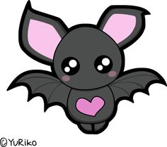Cute bat by ~o-YuRiko-o on deviantART