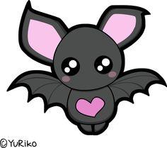 Cute bat by ~o-YuRiko-o on deviantART