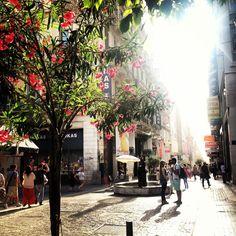 ermou street shopping area