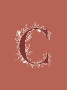 letter C, letra C calligraphy modern Calligraphy Ipad lettering, quotes Procreate, wallpaper - Ipad Wallpaper Typography Letters, Typography Poster, Ipad Wallpaper Quotes, Alphabet Wallpaper, Drawing Letters, Floral Letters, Simple Doodles, Modern Calligraphy, Lettering Design