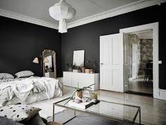 Hét bewijs dat zwarte muren een groots effect hebben op je interieur - Roomed