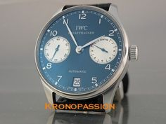 IWC Portuguese 7 Days Automatic Laureus Limited Edition to 1000 #IWC #LuxuryDressStyles