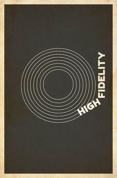 High Fidelity by Matt Owen Movie Posters For Sale, Minimal Movie Posters, Cool Posters, Music Posters, Frames On Wall, Framed Wall Art, Wall Art Prints, Framed Prints, Canvas Prints