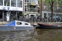 I love this photo we took in Amsterdam; boats, bikes and parking meters. Holland is one of my favorite places to travel to.