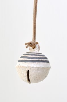 Jingle Bell Ornament - Black by KOROMIKO art design shop   https://www.etsy.com/shop/ArtDesignShop