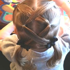 Little girl hairstyles on Pinterest | Little Girl Hair, Cute Little