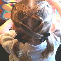 Peachy Something New Hair And Little Girls On Pinterest Short Hairstyles Gunalazisus