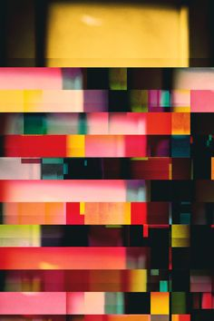 3rd+Variation+of+a+Scarf+-+Fine+Art+Glitch+Photography+by+Sabato+Visconti+-+Signed+Archival+Print+-+Abstract+Minimalist+Red+Pink+Squares