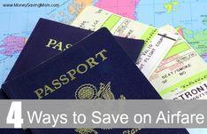 4 Ways to Save on Airfare