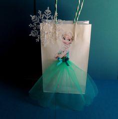 10 pedazos congelados fiebre Elsa Ana Tutu por rizastouchofflair