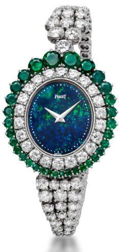 Opal, Diamonds and emeralds -Piaget