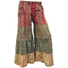 Lunar Bay Over Dyed Seersucker  Pants. $35
