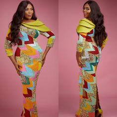 Eye Catchy Ankara Gowns For Classic Ladies. this week Newsland spot some ankara gown design that can make any lady look smart and gorgeous for her man Like every other, the year 2017 with no [. African American Fashion, African Inspired Fashion, African Print Fashion, Africa Fashion, African Prints, African Dresses For Women, African Attire, African Wear, African Fashion Dresses